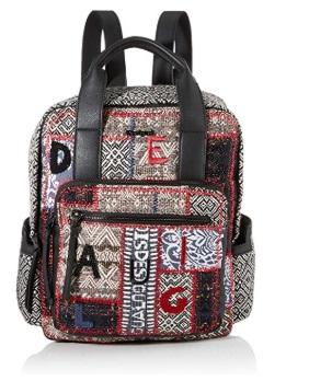 Desigual Backpack Patch 1968 Randers, Mochila moderna. para Mujer