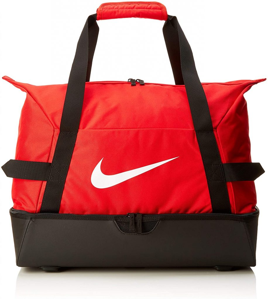 NIKE Nk Acdmy Team L Hdcs Gym Duffel Bag, Unisex adulto, University Red/Black/(White), MISC