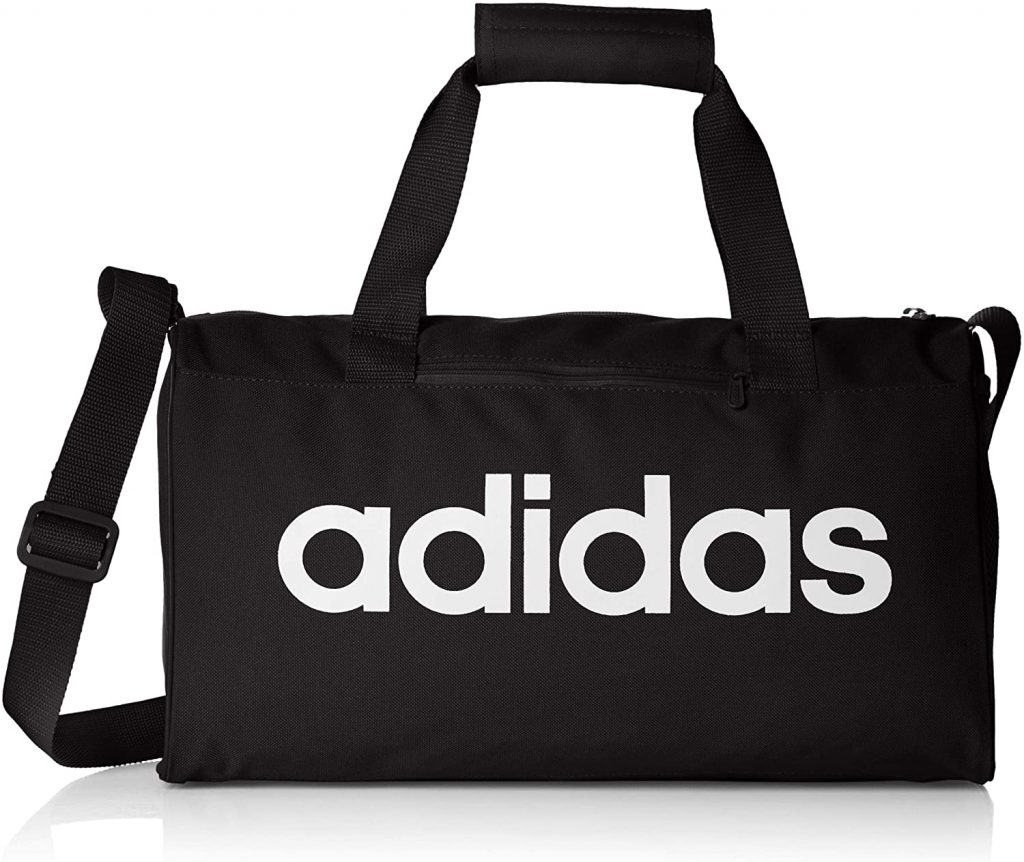 adidas Lin Core Duf XS Gym Bag, Unisex Adulto, black White, NS